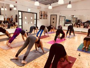 Downward facing dog Mandala Yoga Dublin