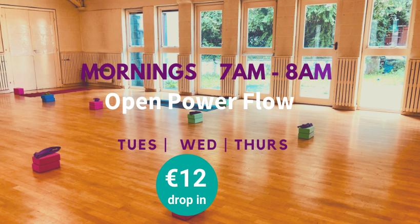 Mandala Yoga Early morning classes Dublin 2 Dublin 4 City Centre Docklands
