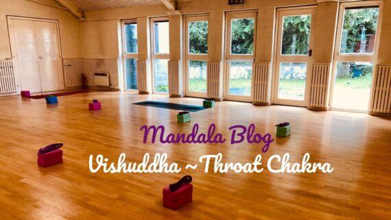 Vishuddha Thoat chakra Mandala Yoga Dublin