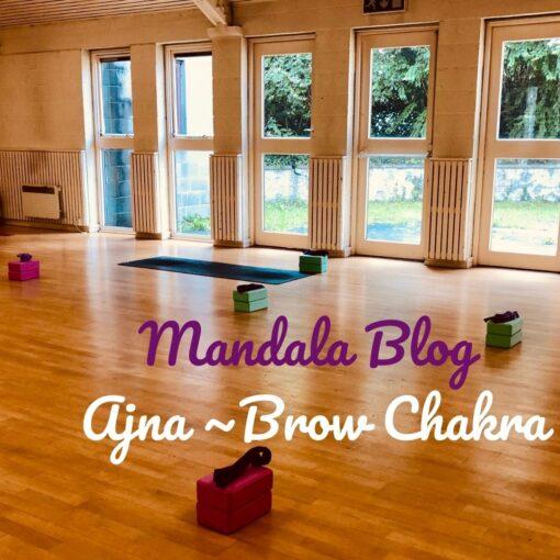 Mandala Yoga Ajna Chakra