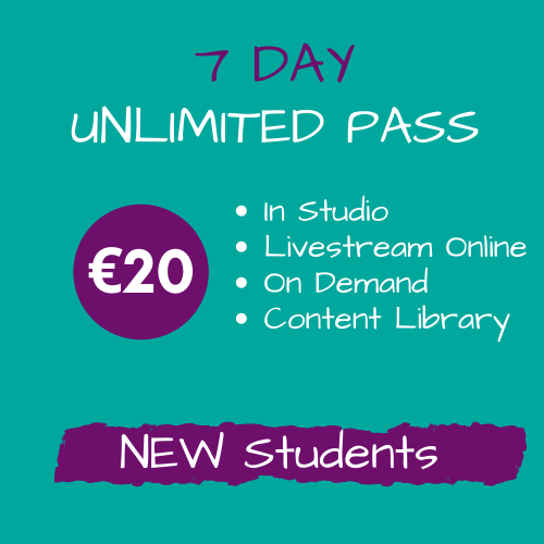 Introductory offer 20e unlimited classes